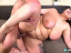 Plus-size Beti Phellasio Jawdropping Sex Scene