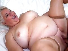 Monstrous Tits Big Ass Granny Fatty