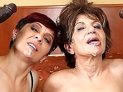 Grannies Hardcore Fucked Interracial Porn with Aged Women loving Black Schlongs