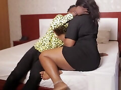 Jerry Rides His African BBW Nephew'_s Soft Pussy - NOLLYPORN