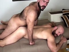 two bears fuck bareback
