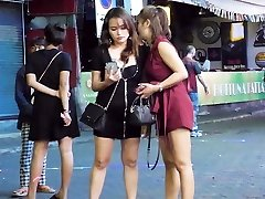 Pattaya Walking Street Nightlife and she-male,Thailand 2020