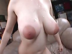 Awesome tits and great facial