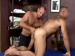 Older Stud Massaged