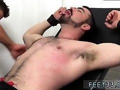 Young gay licking feet movie Dolan Wolf Jerked & Tickled