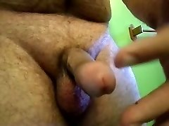 jackmeoffnow curved thick pipe erection jack n pre-cum play