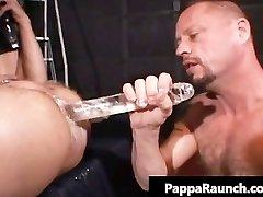 Extraordinary gay hardcore asshole fucking S&M part3