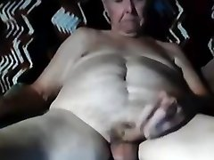 Granddad stroke on webcam 8
