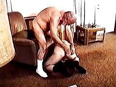 Daddy bear gets a blowjob