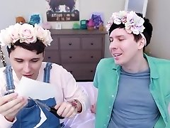 Two British Boys Getting Wet and Sticky in Pastel Envelope