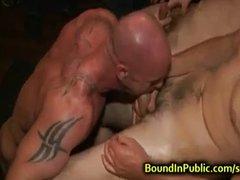 BDSM short clip-baldhead
