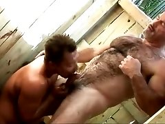 Daddy and Asian guy