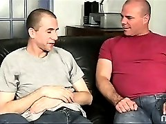 Alex is an old pansy pouncing pro. It's not everyday that a peter is so pretty it catches his attention. But the moment Alex and David caught a glimpse of the prize behind Ricky's front door they threw themselves at him, begging to let them suck his cock