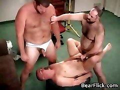 Gay hairy bear jizz and fucking hardcore part5