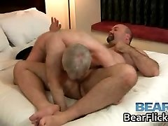 Older gay bears fucking and sucking part5