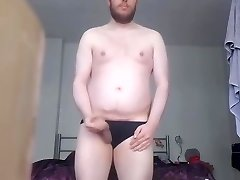 Jerking in panties