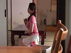 Japanese Anal mom and son with Private teacher