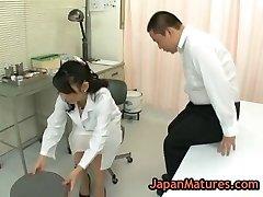 Nurse natsumi kitahara gets her puss