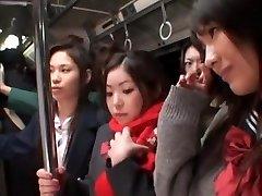 Epic Japanese model Minaki Saotome, Azusa Nagase in Naughty Hairy, Finger-tickling JAV scene