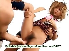 Teenage japanese models have fun with an intercourse