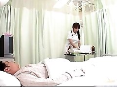 Crazy JPN nurse doing body check-up to this part1