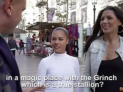 Awesome reverse gang-fuck video starring Alexa Tomas