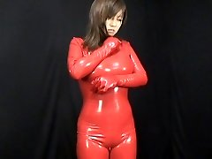 Japansk Latex Catsuit 59