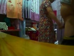 Flashing Made Chinese Granny Horry