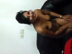 Indian Lady Flashing titties