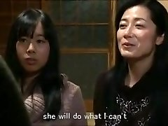 Jap mom daughter keeping house m80 gimps