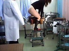 Japanese schoolgirl medical voyeur orgy