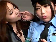 Japanese Girly-girl Seduced Officer