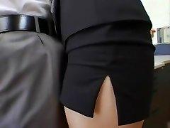 Incredible Asian girl Shizuka Kanno in Hottest Secretary, Facial JAV clip