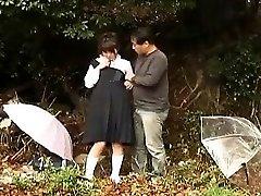 Japanese College Girl Public Pickup