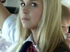 Bus Full of Blonde School Girls 3