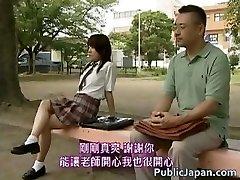 Asian model has hot public fuckfest partTwo