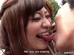 Asians are getting their wet pussies fingered real deep