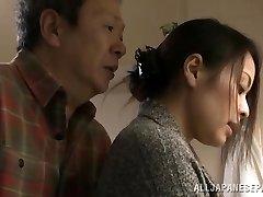 Mina Kanamori hot Asian cougar is a insatiable housewife