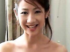 Beautiful Chinese girlfriend blowjob and hard