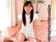 Lil' Rimu Sasahara squirts when fingered then gets penetrated