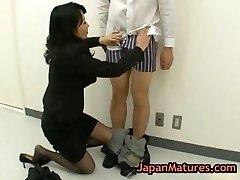 Natsumi kitahara rimming some boy part1