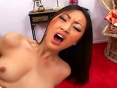 Beautiful Asian cutie pounded