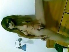 Chinese girl coochie smoking