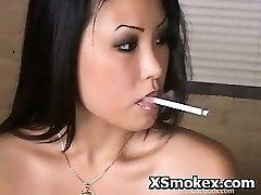 Smoking Hardcore Kinky Bi-atch