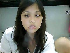 Smoking Asian Web Cam I