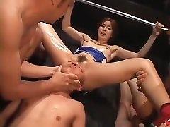 Ultra-kinky homemade BDSM, Fetish porn scene