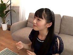 Shy Asian Eats a Ton of Cum