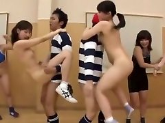 Insane Japanese model Ai Uehara, Saki Kanasaki in Exotic Gang Orgy, Small Tits JAV scene