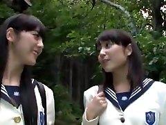 japāņu av lesbiešu skolnieces