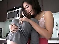 Lesbian Stroking Puffy Nipples